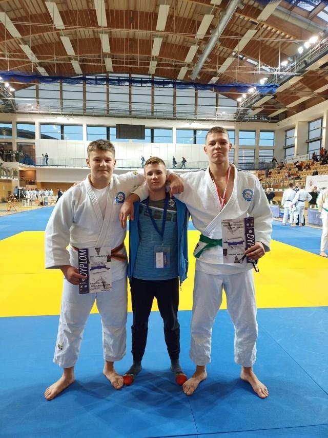 Zawodnicy Akademii Judo mieli powody do zadowolenia po zawodach rozegranych w hali UAM na Morasku