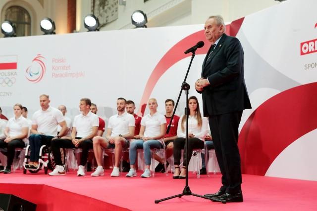 Do Tokio pojedzie też oczywiście prezes Polskiego Komitetu Olimpijskiego, poznaniak Andrzej Kraśnicki