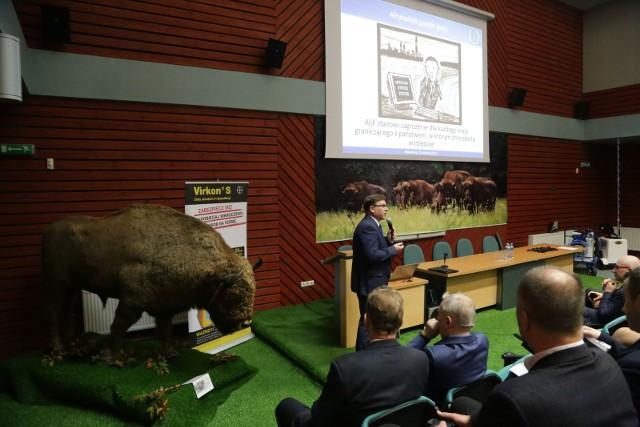 W rejonach, gdzie występuje ASF chcemy utrzymać niską populację dzików – mówił Zygmunt Pejsak z Państwowego Instytutu Weterynaryjnego w Puławach