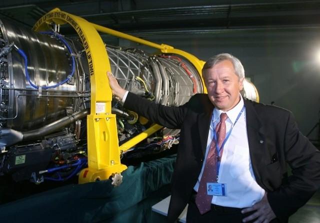 Dolina Lotnicza ma 10 lat. Eksportuje za 2 miliardy dolarówMarek Darecki, prezes WSK PZL-Rzeszów SA, twórca Doliny Lotniczej,