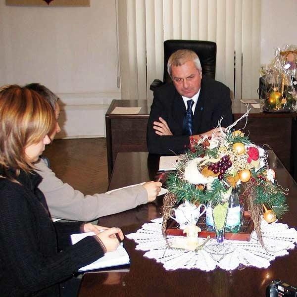 Prezydent Przemyśla, Robert Choma na konferencji prasowej przekonywał dziennikarzy, że nie współpracował z SB.
