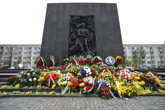 Obchody 73. rocznicy powstania w getcie warszawskim, 18 kwietnia 2016 r.