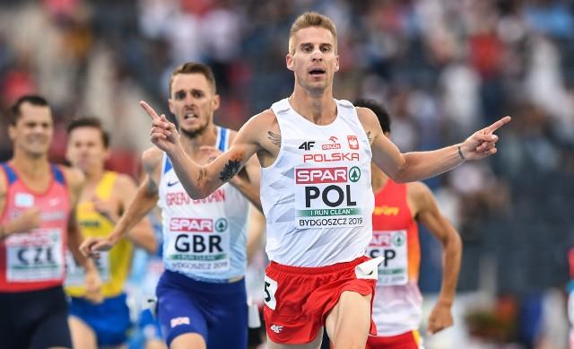 Marcin Lewandowski w kapitalnym stylu wygrał bieg na 1500 metrów podczas Drużynowych Mistrzostw Europy w Bydgoszczy