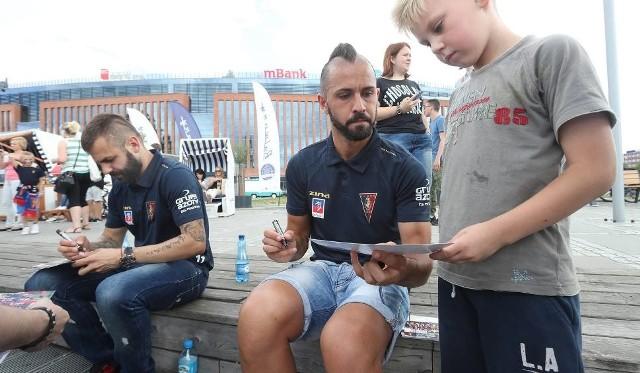 Ostatnio na Bulwarach można było spotkać Ricardo Nunesa i Spasa Deleva.