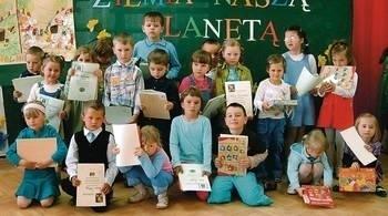 Laureaci nagród i wyróżnień w przedszkolnym konkursie Fot. Archiwum GOK Koniusza
