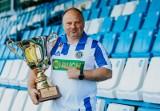 Ruch Chorzów: Puchar 100-lecia i pamiątkowe koszulki z ostatniego triumfu Niebieskich ZDJĘCIA