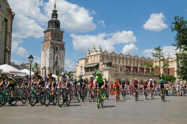 Tour de Pologne 2017. Tour de Pologne 2017 w Krakowie. Zobaczcie zdjęcia ze startu I etapu Tour de Pologne 2017!