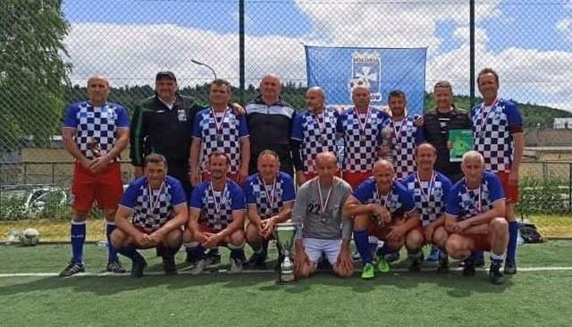 Drużyna Polonii Rzeszów na mistrzostwa Polski oldboys 50+