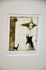 Koronkowa dama erotyki - wystawa Elżbiety  Radzikowskiej