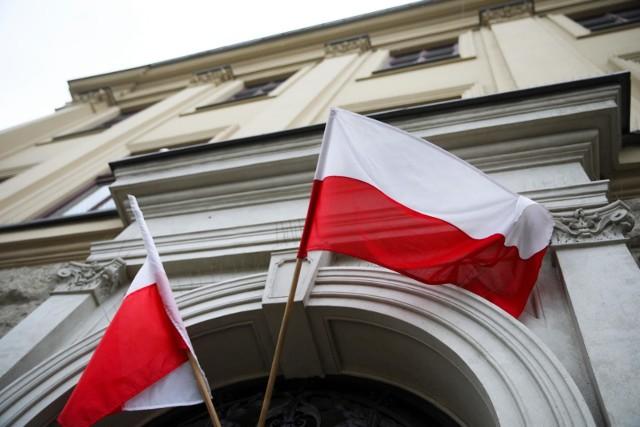 Dzień Flagi wprowadzono w 2004 roku na mocy ustawy. Miało to być między innymi uzupełnienie obchodzonego 2 maja od 2002 roku Dnia Polonii.