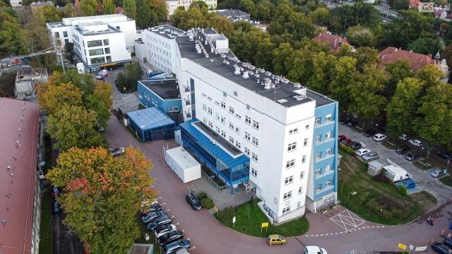 Szpital wojewódzki przy ul. Arkońskiej w Szczecinie