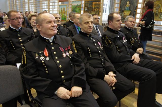 Podczas jubileuszu nie zabrakło górników LW Bogdanka i przedstawicieli władz samorządowych