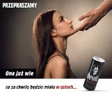 Skandaliczna reklama Devil Energy Drink ukarana. Ona już wie co za chwilę będzie miała w ustach. Firma Waterius ma przeprosić i zapłacić