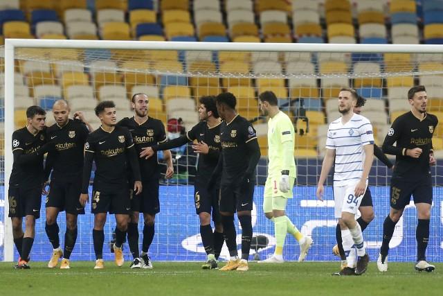FC Barcelona - Dynamo Kijów 4:0 (0:0)
