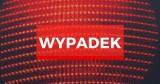 Wypadek na autostradzie A1 w miejscowości Klonówka pow. starogardzki 19.02.2020. Zderzenie dwóch ciężarówek i osobówki