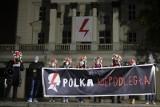 Konserwator zabytków nie wyrażał zgody na symbole Strajku Kobiet na budynku Arkadii w Poznaniu. Teraz domaga się ich usunięcia przez ZKZL