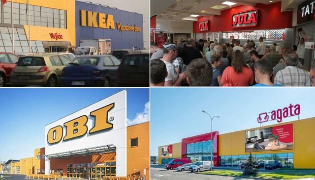 Na naszym profilu facebookowym zapytaliśmy Internautów, jakie sklepy chętnie widzieliby w Koszalinie. Podały różne propozycje. Mieszkańcy chcieliby widzieć w mieście np. salon sieci Ikea. Marzą też o różnych punktach różnych sklepów odzieżowych, dyskontów, sieci budowlanych i remontowych. Sugerują także powrót marek, które wyniosły się z Koszalina. Sprawdźcie!Zobacz także: Otwarcie wyremontowanej Galerii Emka