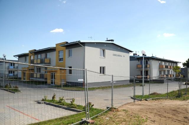 Bloki socjalne przy ul. Odrzańskiej w BydgoszczyDo nowych mieszkań w bydgoskim Brdyujściu jeszcze w tym roku wprowadzą się lokatorzy