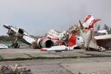 Katastrofa smoleńska: Lewe skrzydło samolotu Tu-154 zostało zniszczone w wyniku eksplozji wewnętrznej