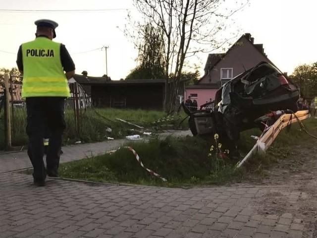 Cztery osoby trafiły do szpitala w wyniku wypadku, do którego doszło w miejscowości Nieżychowice.