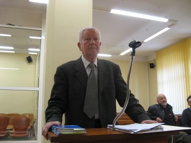 Opinii biegłego Zenona Gosławskiego sąd wysłuchał dziś po raz drugi w ciągu pięciu tygodni