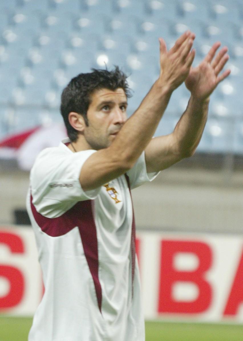 Piłkarz Realu Madryt, Luis Figo: kierunek - Mediolan.