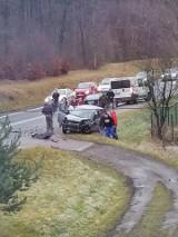 Groźny wypadek pod Polanicą. Droga nr 8 zablokowana