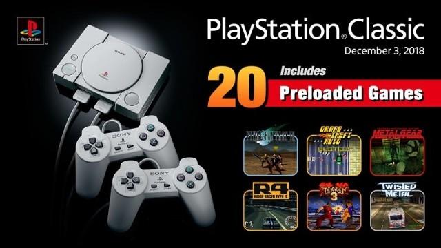 W pamięci nowej konsoli PlayStation Classic wgrane będzie 20 gier, które mają przypomnieć graczom czasy dzieciństwa i złotej epoki lat 90. Co ważne, każdy z regionów (USA, Europa, Japonia) otrzyma indywidualny zestaw 20 gier. Oto lista gier, jaką oferuje Sony w europejskiej wersji PlayStation Classic!