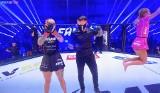 FAME MMA 6 WYNIKI Linkiewicz wygrała. Najman pokonany ONLINE Policja na przeszkodzie gali, która jednak doszła do skutku