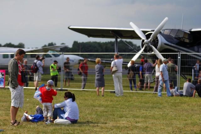 Tak było na Wielkopolskim Pikniku Lotniczym w Bednarach dwa lata temu.
