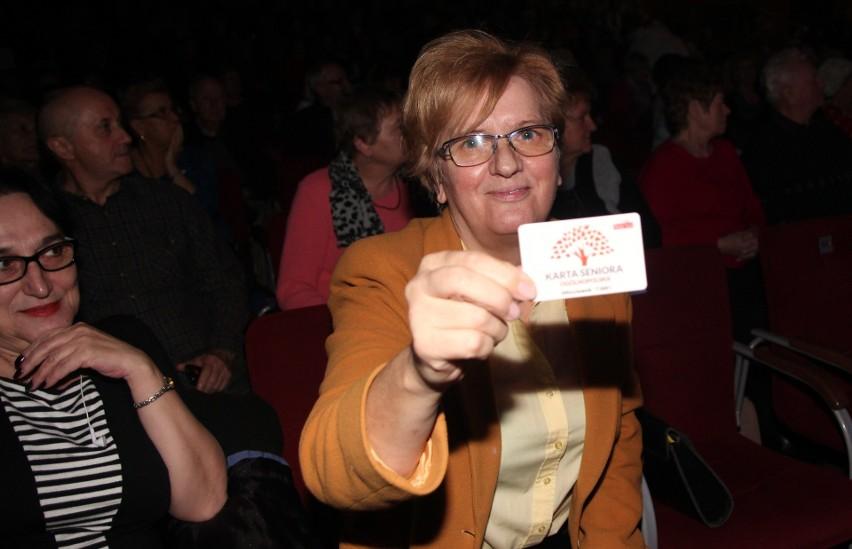Halina Sarnowska odebrała już swoją Kartę Seniora podczas...