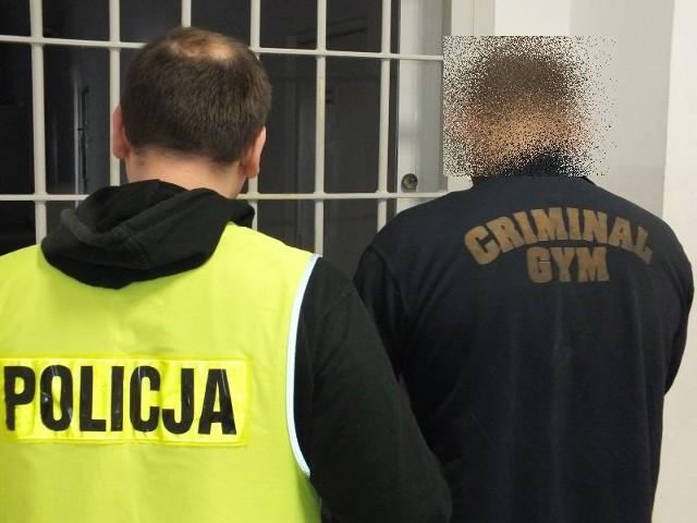 Złodziej, który grasował na działkach w Głogowie, ma 26 lat.
