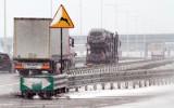 Korki i fatalne warunki jazdy na autostradzie A4