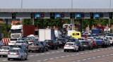 Wielokilometrowy korek na autostradzie A4. Powroty z weekendu mogą potrwać dłużej