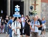 Inowrocław. Pątnicy z parafii Zwiastowania NMP wyruszyli na pielgrzymkowy szlak na Jasną Górę w Częstochowie. Zdjęcia