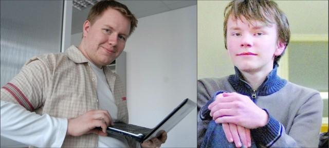 - Uczeń potrzebuje mistrza - mówią Dominik Trojnar, student z Łańcuta i Jacek Koźmic, gimnazjalista z Kolbuszowej.