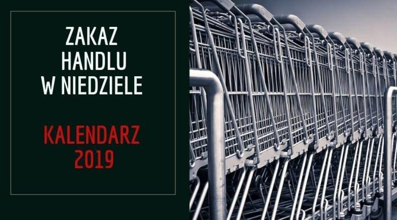 82345d9d92 Niedziele handlowe MAJ 2019  Kalendarz Zakaz handlu Sklepy zamknięte ...