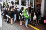 Awaria na dworcu PKP Poznań Główny - wstrzymano ruch pociągów. Już kursują, ale pasażerowie muszą liczyć się z opóźnieniami