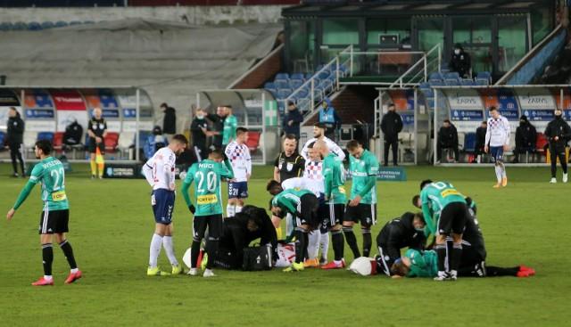 27.02.2021. 19. kolejka PKO Ekstraklasy: Górnik Zabrze - Legia Warszawa 1:2.