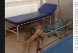 Pacjent bez spodni leżał na podłodze szpitala MSWiA w Lublinie. Dyrekcja: Udzielono mu wszelkiej niezbędnej pomocy
