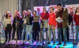 """""""Bezpieczeństwo ze Świętym Mikołajem"""" - wspólna akcja bydgoskiej Caritas i kujawsko-pomorskich policjantów [zdjęcia, wideo]"""