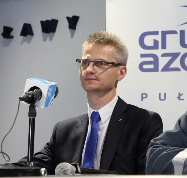 """Dr Krzysztof Bednarz jest nowym prezesem Grupy Azoty Zakłady Azotowe """"Puławy"""""""