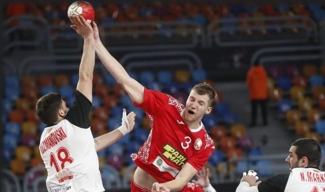 Władysław Kulesz był najskuteczniejszym graczem Białorusi w meczu z Macedonią Północną.