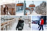 Zima powróciła do Krynicy-Zdroju. Mieszkańcy i turyści dzielą się niesamowitymi zdjęciami na Instagramie. Hitem ścieżka w koronach drzew