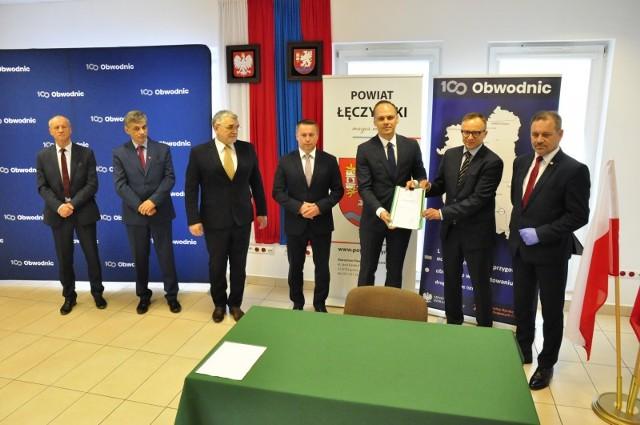 We wtorek podpisano program inwestycji dla budowy obwodnicy Łęcznej w ciągu drogi krajowej nr 82