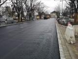 Na TAT na Nowy Dwór pojawił się już asfalt (ZOBACZ)