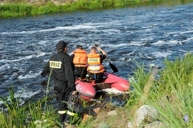 Strażacy przeszukują jeziora w Wielkopolsce