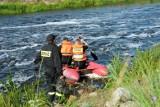 Strażacy znaleźli ciało mężczyzny w Jeziorze Kosewskim