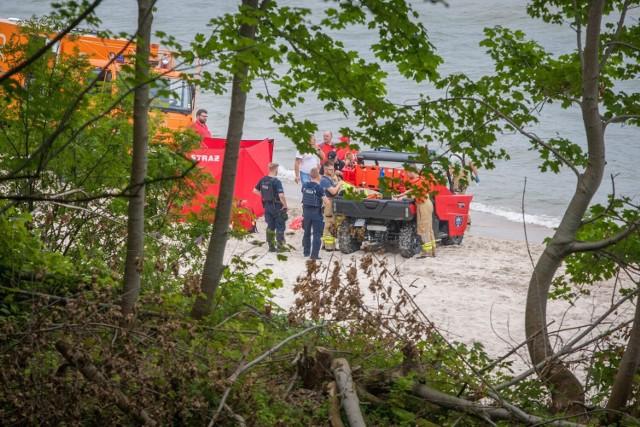 W Rozewiu z Bałtyku w czwartek, 29.07.2021 r. wyłowiono ciało młodego mężczyzny!