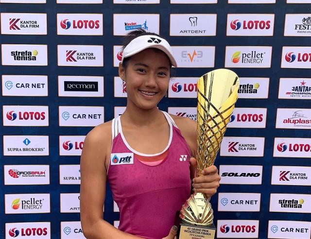 Patty Pimrada Jattavappornvanit wygrała turniej o Grand Prix Wojciecha Fibaka.